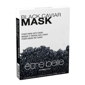Etre Belle Black Caviar Fleece mask - 1 P. (5 pieces)