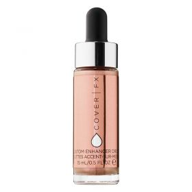 Cover FX Custom Enhancer Drops Highlighter - Rose Gold