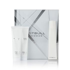 Pitbull ( Eau De Parfum 100 ml + Shower Gel + Body Lotion ) - Women