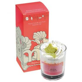 Bomb Cosmetics Jingle berry Piped Glass Candle