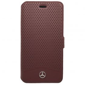 Mercedes Benz - Wave VI Book Type Red - iPhone 7
