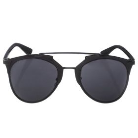 Belvoir & Co. Cat Eyes Mirrored Black Sunglasses