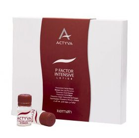 Kemon Actyva P Factor Intensive Lotion Women For Hair Loss - 12x6ml Ampullen
