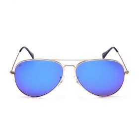 Prive Revaux  - The Commando Aviator Purple Mirror & Gold Sunglasses