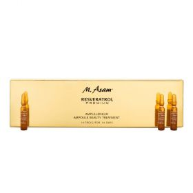 M.Asam  Resevertol Power Ampoule Beauty Treatment - 14 ampoule