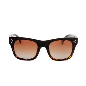 Prive Revaux  - The Classic Wayfarer Brown Gradient & Brown Tortoise Sunglasses