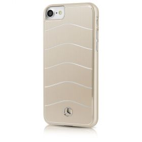 Mercedes Benz - Wave VIII Brushed Aluminium Hard Case Gold - iPhone 7
