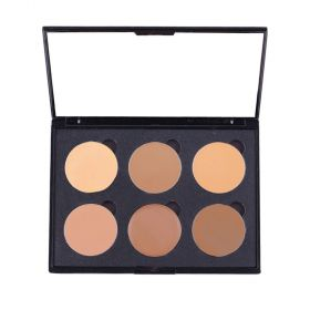Love Me Cosmetic Cream Colour Corrector Palette 6 Well - Medium