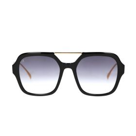 POKA - Square Black Sunglasses