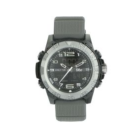 Black & Grey Watch - Sports - Men