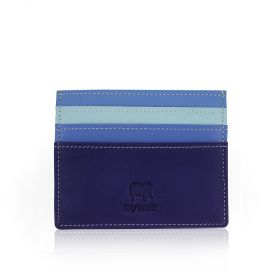 Soft Leather Card Holder - Lavender