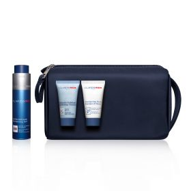 ClarinsMen Essentials For Face & Body - 4 Pcs