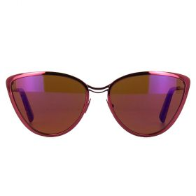 Cutler And Gross Sunglasses Mosaic on Black Dalloz Polarized Flash Purple - N 1124 - Women