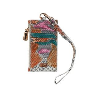 Saly Boutique - Python Skin Card Holder (Type 2) - Multicolor