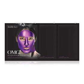Double Dare - OMG Platinum Purple Mask Kit - 3 in1