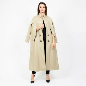 Long cape Jacket - Biege