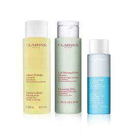 Clarins - Make up Remover Trio - Normal to Dry Skin
