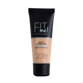 Maybelline - Fit Me Matte And Poreless Foundation 238 - Rich Tan