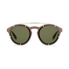 Givenchy -  Round Green & Brown Sunglasses