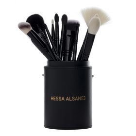Hessa Al Sane3 - Make up Brush Set - 14 Pcs