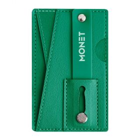 Monet - Mobile Grip+wallet+Kickstand - Hunter Green