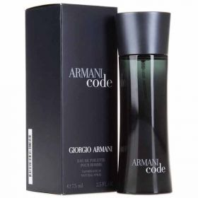 Georgio Armani Black Code Eau De Toilette 75 m l- Men
