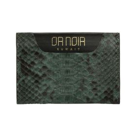 Or Noir -  Leather Card Holder - Green