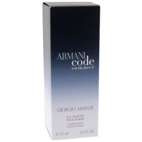 Georgio Armani  CODE SUMMER Eau De Toilette 75 ml - Men