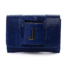 Sac Studio - Haidi Electric Blue Clutch - Letter J