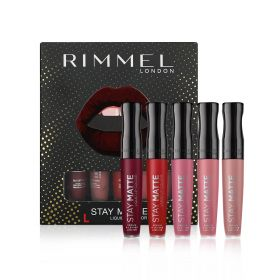 Stay Matte Liquid Lipstick Pack - 5 Pcs