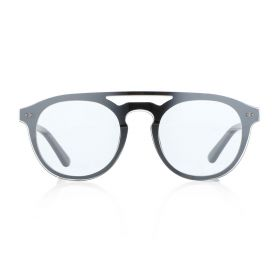 American Heritage Round Silver Sunglasses