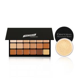 Super Warm Contour Palette + Setting Powder Gift Set