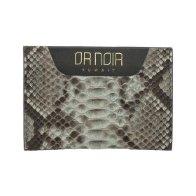 Or Noir -  Grey Card Holder