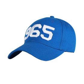 Blue Cap with White 965 Logo