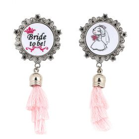 Ralouch Design Earrings - Bride to Be