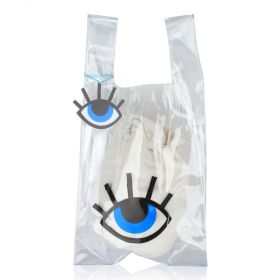 Women Transparent  Bag with Eye
