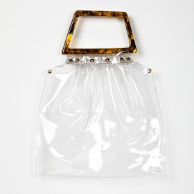 No Brand - Transparent Waterproof Womens Jelly Bag