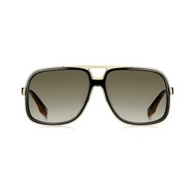 Marc Jacobs -  Square Brown Gradient & Black Sunglasses