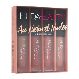 Liquid Matte Minis - Au Naturel Nudes - 4 Pcs