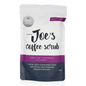 Coffee Body Scrub With English Lavender Essence - 220g