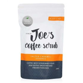 Coffee Body Scrub With Salted Caramel Essence - 220g