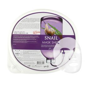 Snail Mask Sheet For Anti-aging & Deep Nourishing - 30 Sheets
