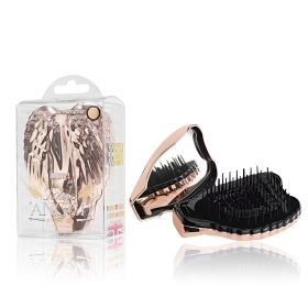 Tangle Angel Pro Compact Detangling Hair Brush -  Rose Gold
