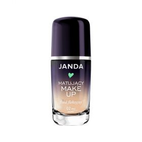 Janda - Mattifying Foundation - N 02 Light Beige