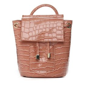 Amber - Peach Cross Body Leather Bag
