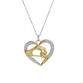 Venus - Gold Plated Necklace with a heart Pendant