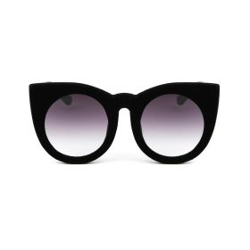 Velvet Cateye Black Sunglasses