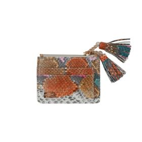 Saly Boutique - Python Skin Card Holder (Type 3) - Multicolor