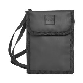 Neck Pouch Coated - Black
