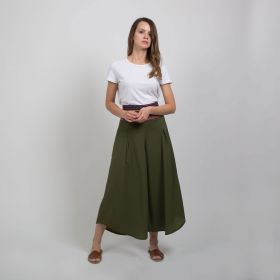 Boutique by 3AIN - Kakhi Stylish Wide cut Pants - Free Size